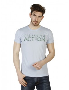 Camiseta Trussardi - Action Azul