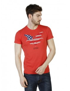 Camiseta Trussardi - Action Roja