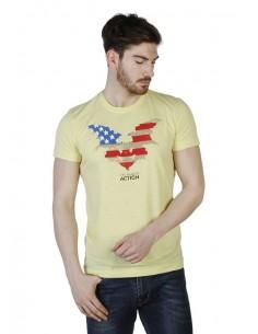 Camiseta Trussardi - Action amarilla