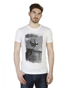 Camiseta Trussardi - Action blanca