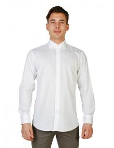 Camisa Trussardi de corte regular - blanca
