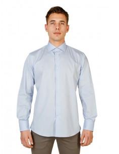 Camisa Trussardi de corte regular - celeste