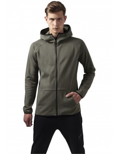 Urban Classics sudadera interlock - army