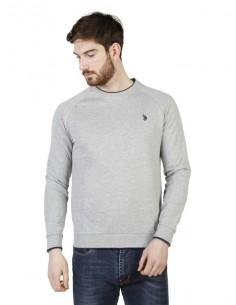 Jersey cuello redondo U.S. Polo Assn - gris