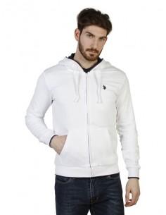 Jersey con capucha U.S. Polo Assn - blanco