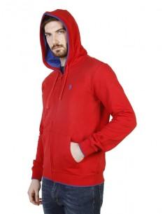Jersey con capucha U.S. Polo Assn - rojo