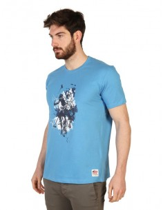 Camiseta US Polo Assn - turquesa