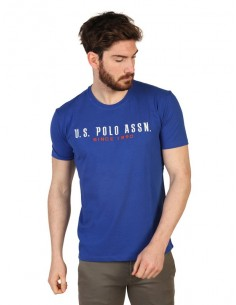 Camiseta US Polo Assn icónica - royal