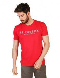 Camiseta US Polo Assn icónica - roja