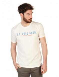 Camiseta US Polo Assn icónica - blanca