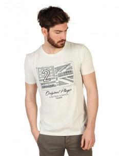 Camiseta US Polo Assn vintage - blanca