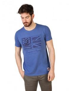 Camiseta US Polo Assn vintage - azul