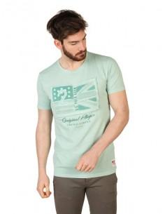 Camiseta US Polo Assn vintage - verde menta
