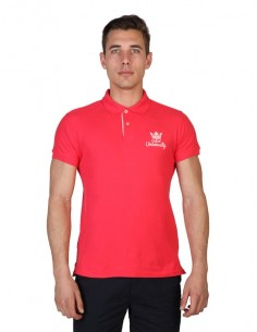 Polo Oxford university - Rosso