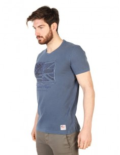 Camiseta US Polo Assn vintage - blue washed
