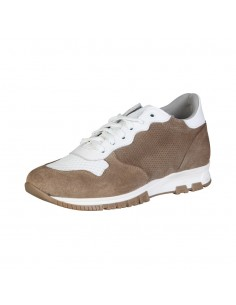 Sneakers de hombre Made in Italy - RAFFAELE BEIGE