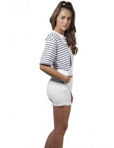 Peto shorts Urban Classics - blancos