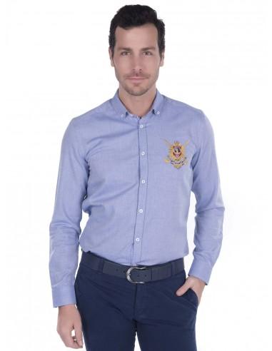 Camisa Sir Raymond Tailor - Oxford blue