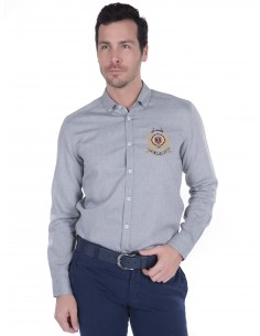 Camisa Sir Raymond Tailor - Oxford grey