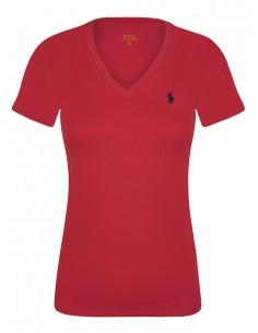 Camiseta mujer icónica small roja