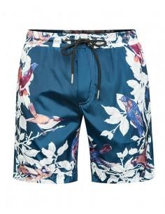 Bañador D&G estampado floral - azul marea