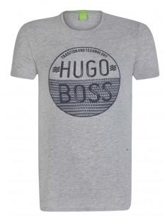 Camiseta Hugo Boss para hombre - gris