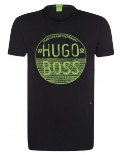 Camiseta Hugo Boss para hombre - negra