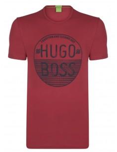 Camiseta Hugo Boss para hombre - roja
