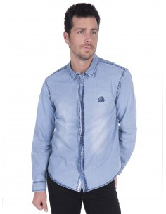 Camisa vaquera Sir Raymond Tailor - light Navy Denim