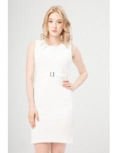Vestido Fontana 2.0 Tullia blanco
