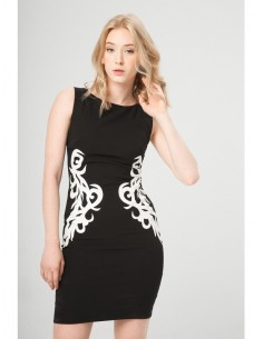 Vestido Fontana 2.0 Veridiana negro