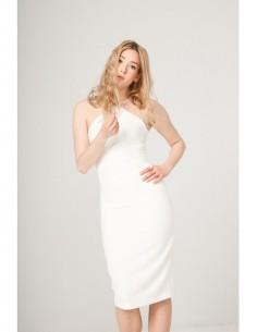 Vestido Fontana 2.0 Selene blanco