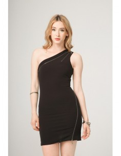 Vestido Fontana 2.0 Genesia negro