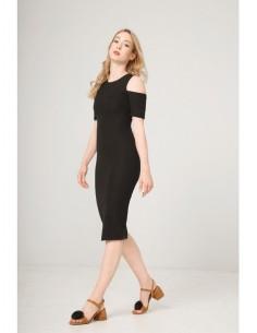 Vestido Fontana 2.0 Desdemona negro