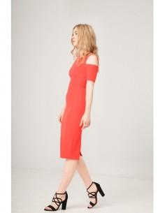 Vestido Fontana 2.0 Desdemona naranja