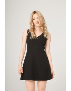 Vestido Fontana 2.0 Venera negro