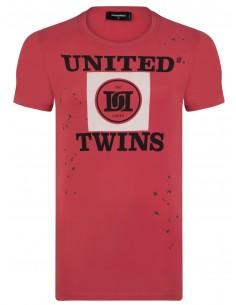 Camiseta dsquared roja