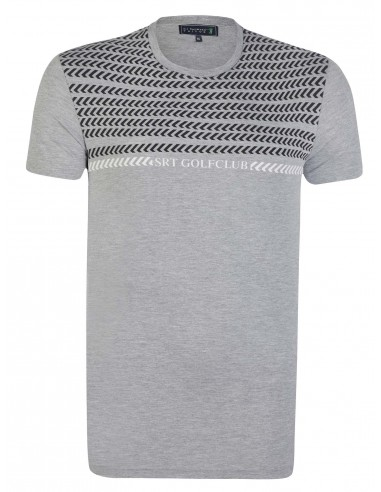 Camiseta Sir Raymond Tailor etnica - gris melange