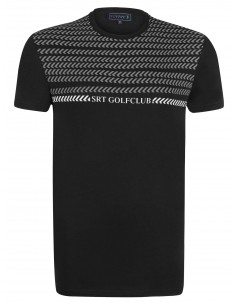 Camiseta Sir Raymond Tailor etnica - black