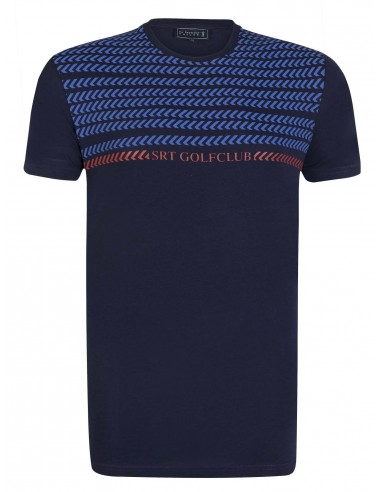 Camiseta Sir Raymond Tailor etnica - navy