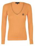 Jersey de ochos Sir Raymond Tailor de cuello pico - orange
