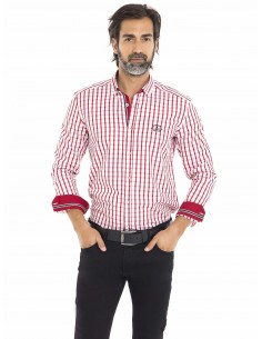 Camisa Sir Raymond Tailor - plaid red