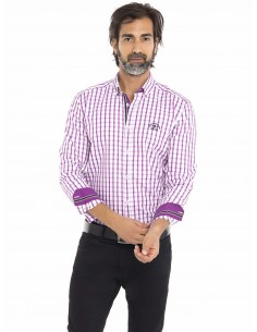 Camisa Sir Raymond Tailor - pink plaid