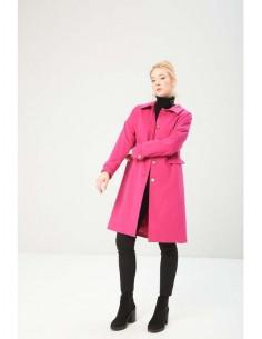 Fontana 2.0 abrigo largo - fucsia