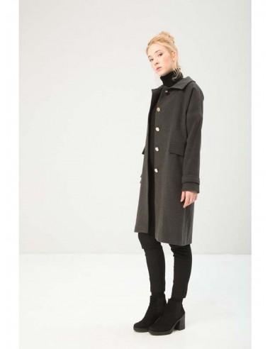Fontana 2.0 abrigo largo - antracita