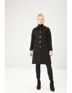 Fontana 2.0 abrigo largo - negro