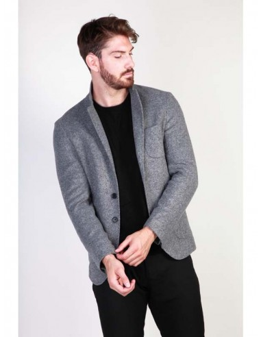 Blazer para hombre Made In Italy RODOLFO - gris