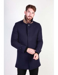 Abrigo para hombre Made In Italy ADOLFO - azul