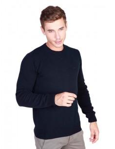 Trussardi jersey cuello redondo - marino