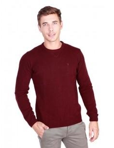 Trussardi jersey cuello redondo - morado